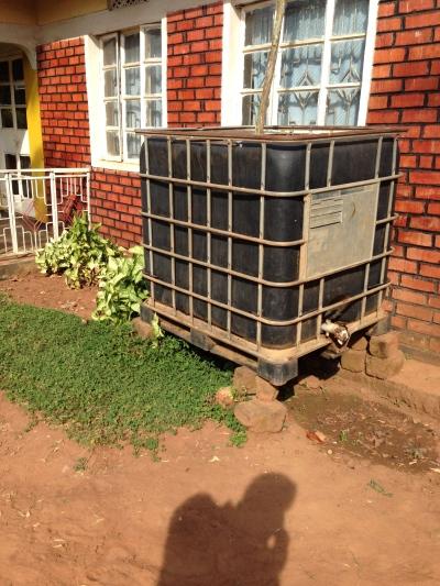Water tank in North Buganda Region, Uganda