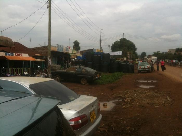 Water tank inventory in Kagio, Kenya